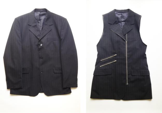 From blazer to waistcoat DIY Plan B anna evers DIY