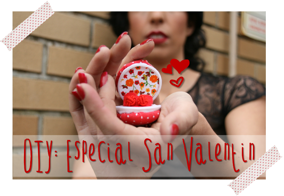 Diy Regalo De San Valentin Handbox