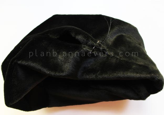 Plan B anna evers DIY Fur tube scarf step 5