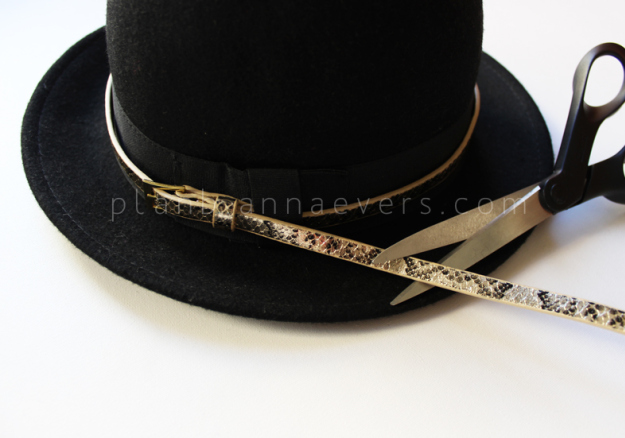 PlanB anna evers DIY Accessorize your hat step 4