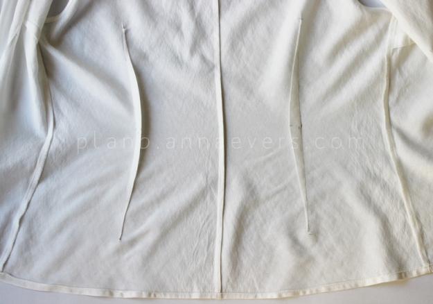 Plan b anna evers DIY Tip: how to tailo a shirt step 5
