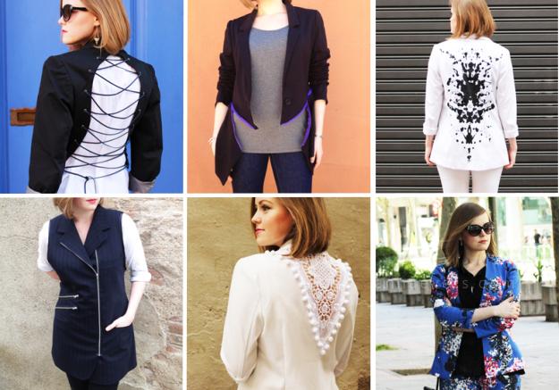 6 blazer DIY's from Plan B anna evers