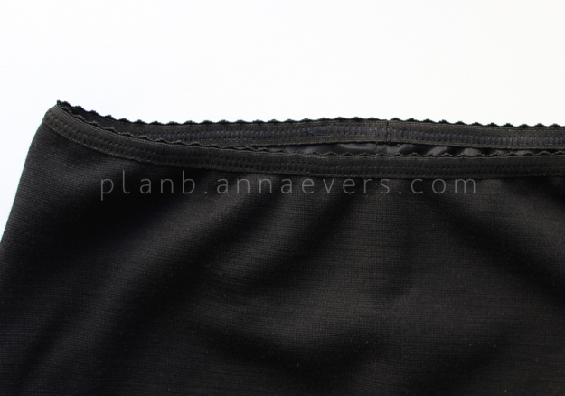 Plan B anna evers DIY Lingerie skirt step 3
