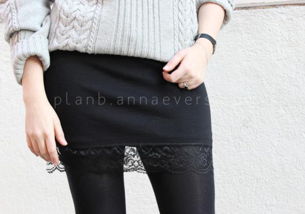 Plan B anna evers DIY Lingerie skirt