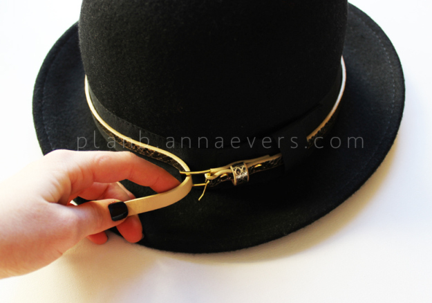 PlanB anna evers DIY Accessorize your hat step 2