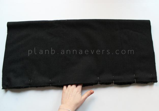Plan B anna evers DIY Fur tube scarf step 1