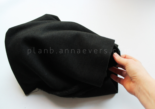 Plan B anna evers DIY Fur tube scarf step 2