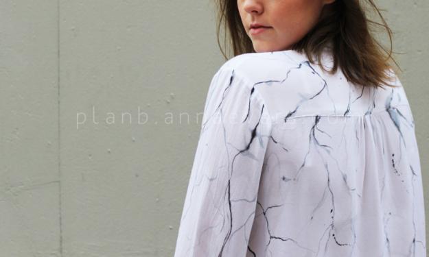 Plan B anna evers DIY Marble print DIY