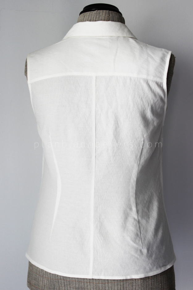 Plan b anna evers DIY Tip: how to tailo a shirt step 7