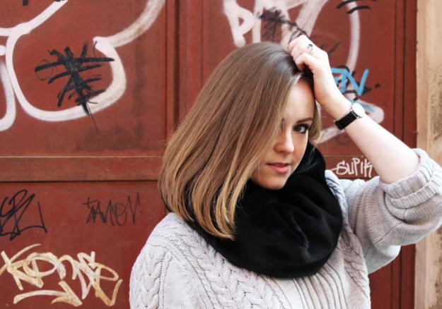 Plan B anna evers DIY Fur tube scarf