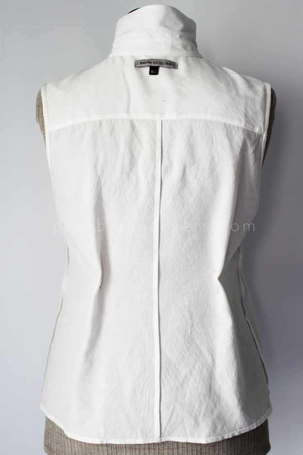 Plan b anna evers DIY Tip: how to tailo a shirt step 2