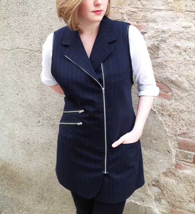From blazer to waistcoat DIY Plan B anna evers