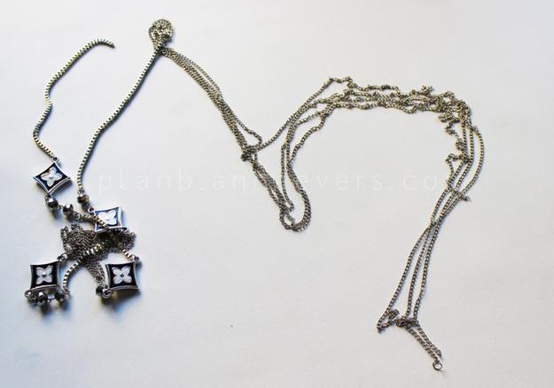 Plan B anna evers DIY Chain Hair pins step 1
