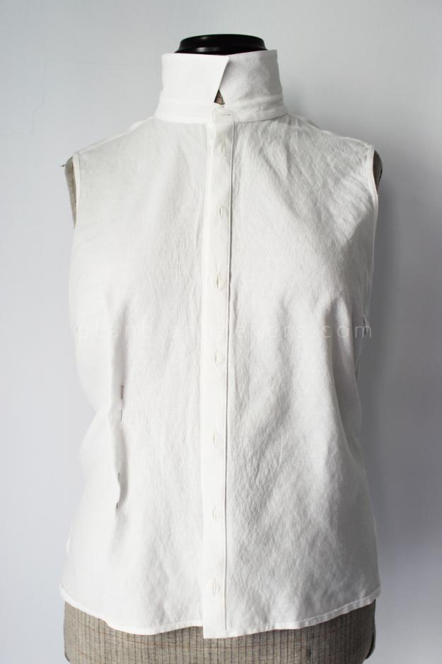 Plan b anna evers DIY Tip: how to tailo a shirt step 1
