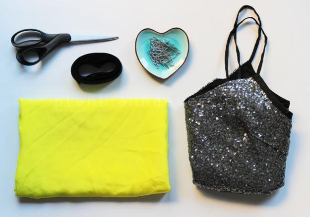 Plan B anna evers DIY Party top materials