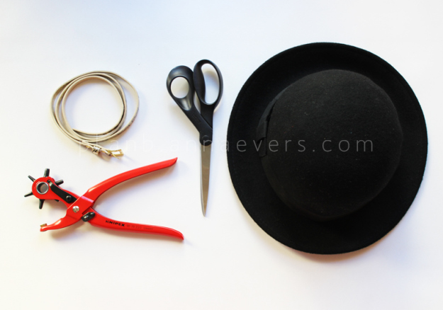 PlanB anna evers DIY Accessorize your hat (materials)