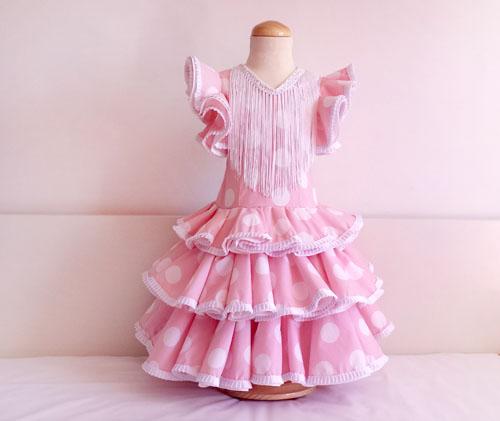 Vestido niña de flamenca: DIY - Handbox Craft Lovers | Comunidad DIY ...