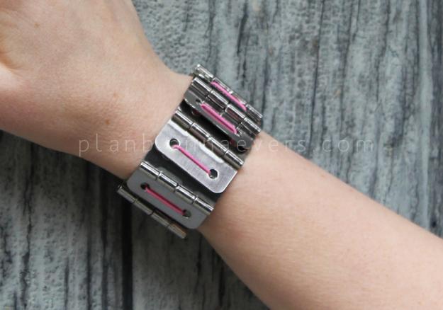 Plan B anna evers DIY Hinge bracelet DIY