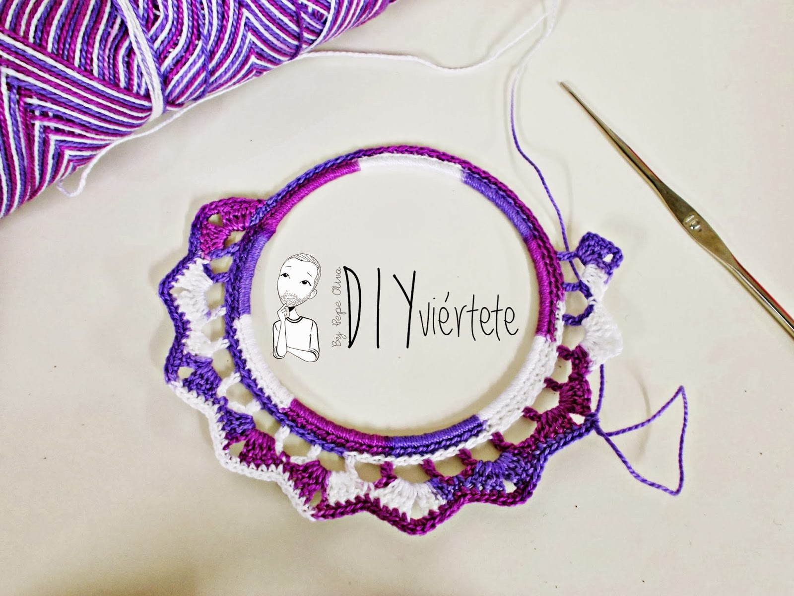DIY-zarcillo-pendiente-bisutería-ganchillo-crochet-flamenca-Diyviértete5