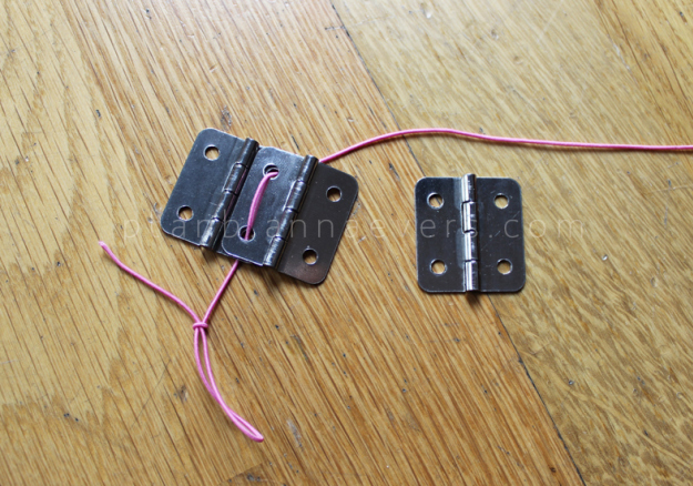 Plan B anna evers DIY Hinge bracelet step 2