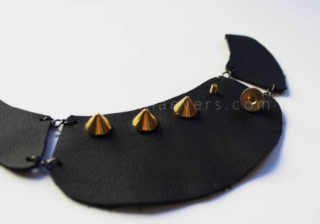 Plan B anna evers DIY Multi chain necklace step 4