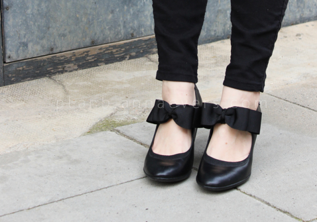 Plan B anna evers DIY Bow shoes