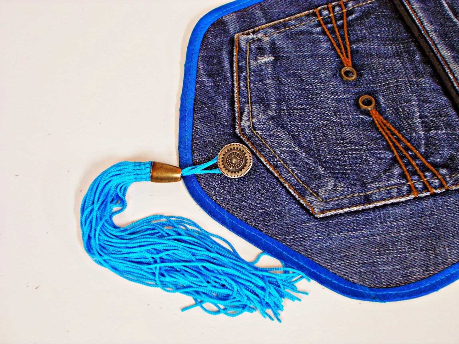 DIY-costura-reciclar-costumizar-vaquero-cargador-móvil-6