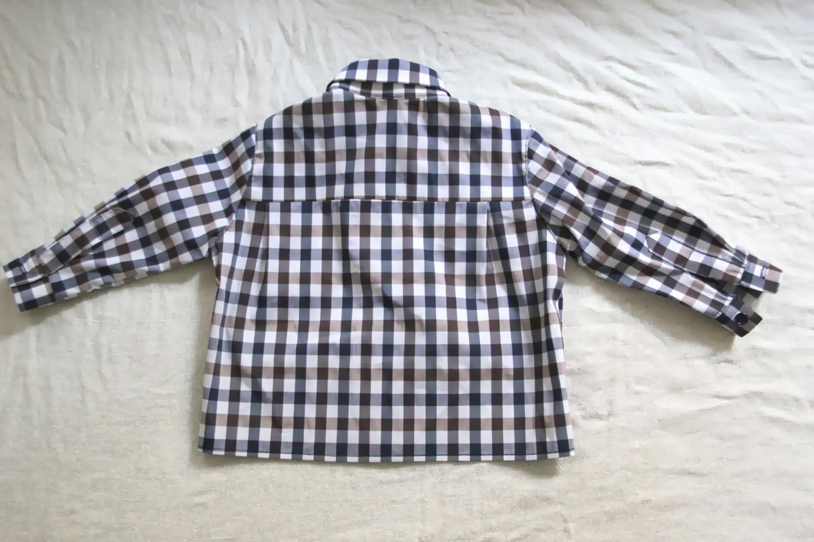 DIY Costura de camisa para bebe niño (patrón gratuito incluido)