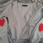 Renovando Jersey… Coderas de Lana en Forma de Corazón!