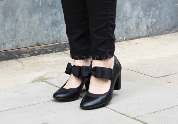 Plan B anna evers DIY Bow shoes DIY