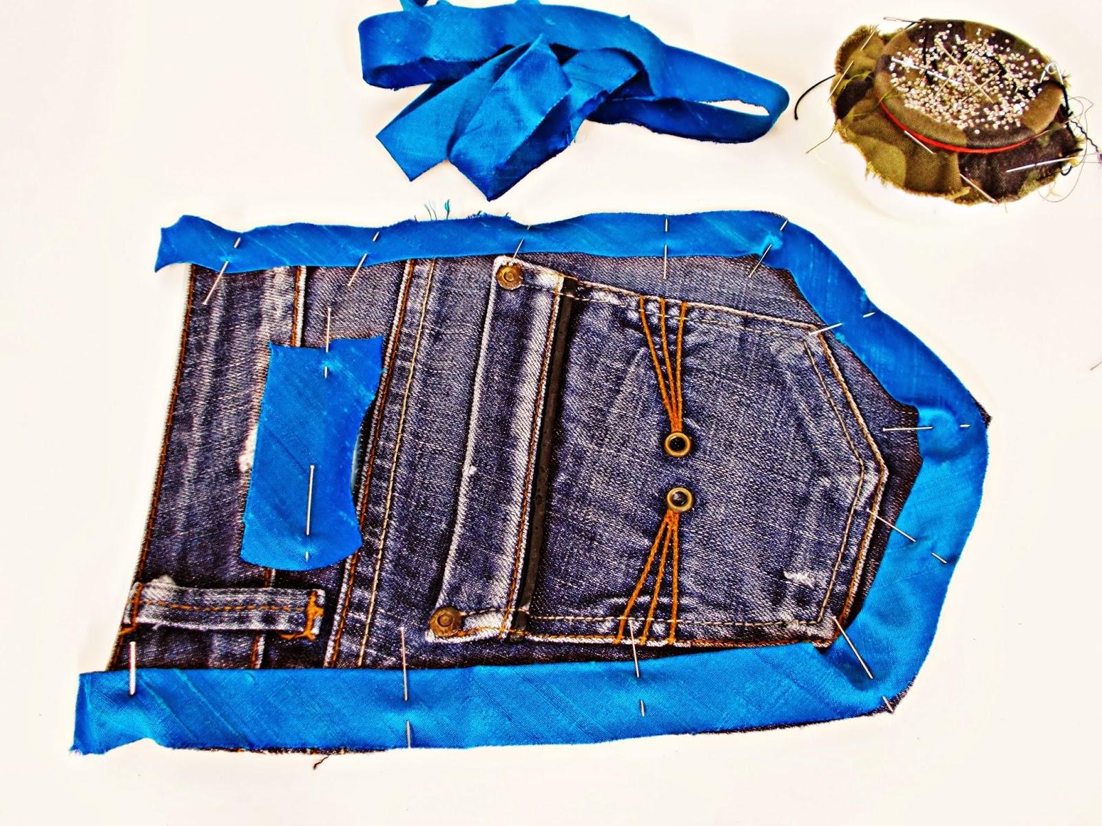 DIY-costura-reciclar-costumizar-vaquero-cargador-móvil-2