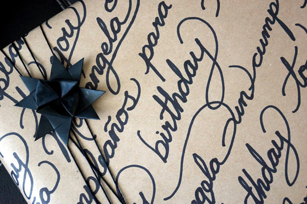 Casa Haus: Idea para envolver tus regalos / DIY gift wrapping