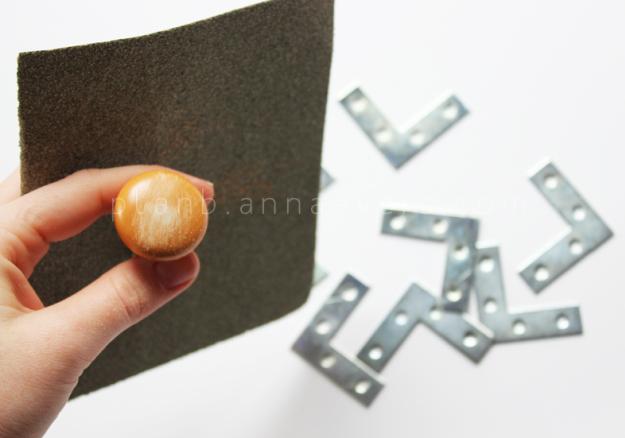 Plan B anna evers DIY Night table makeover step 1