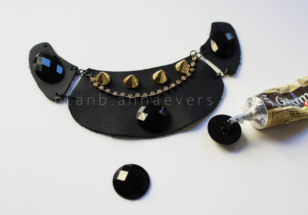 Plan B anna evers DIY Multi chain necklace step 5