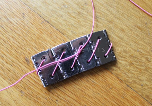Plan B anna evers DIY Hinge bracelet step 4