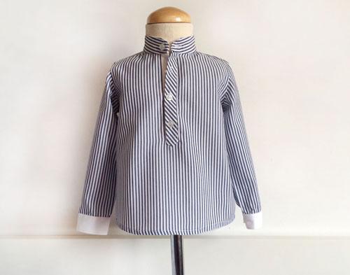 camisa niño cuello mau- patronesmujer-blog