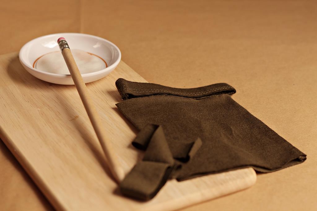cortar manga para hacer el lazo