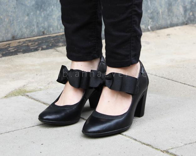Plan B anna evers DIY Bow shoes DIY Maryjanes