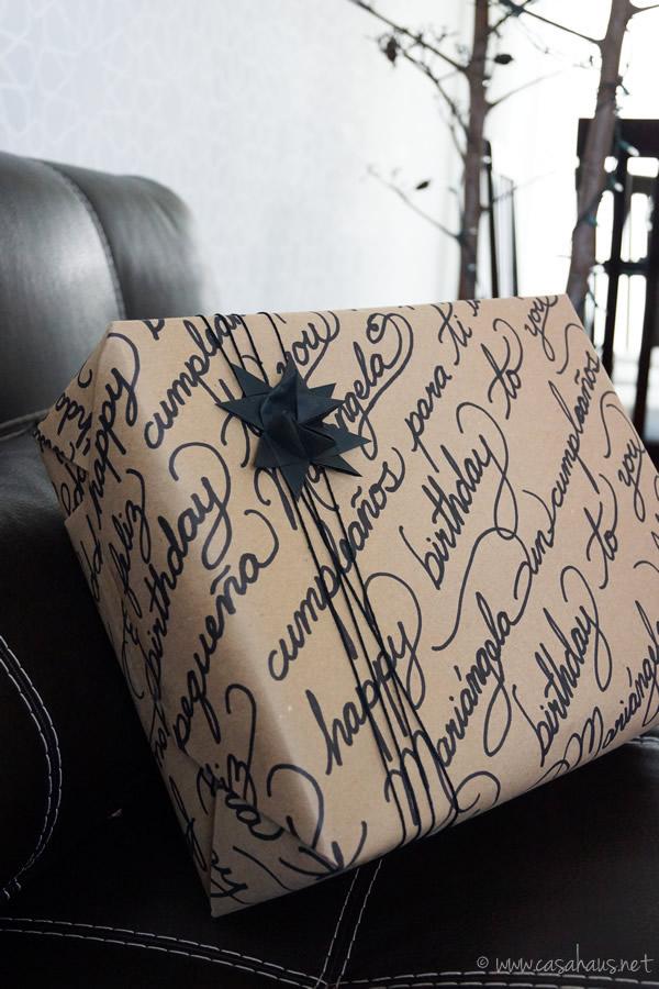 Casa Haus: DIY gift wrapping /envoltura de regalos
