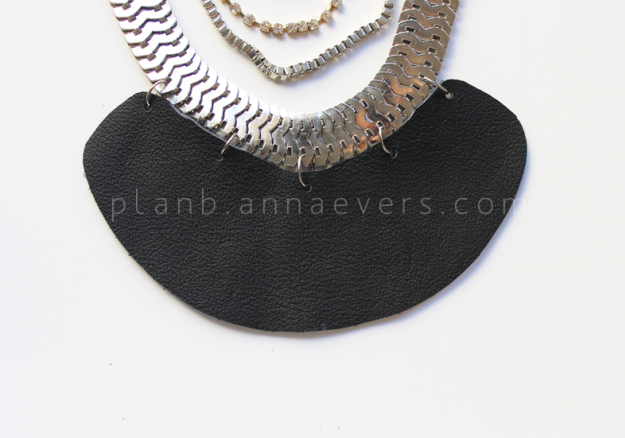 Plan B anna evers DIY Multi chain necklace step 9