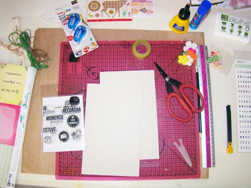 Materiales Kit de Scrap