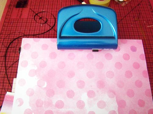 perforar papeles