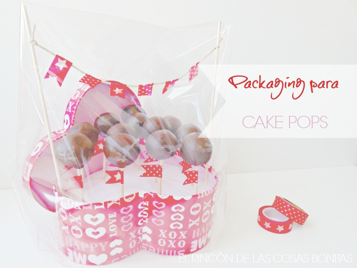 packaging para cake pops con washitape