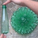 Lámpara realizada con 125 botellas de plástico recicladas - Lamp made with 125 recycled plastic bottles https://youtu.be/lwt43vjl2fs