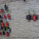 Jardín Vertical Cocacola #compartecocacolacon reciclado creativo rosa montesa