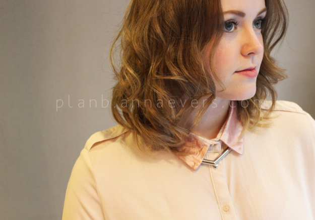 Plan B anna evers DIY Rose gold collar DIY