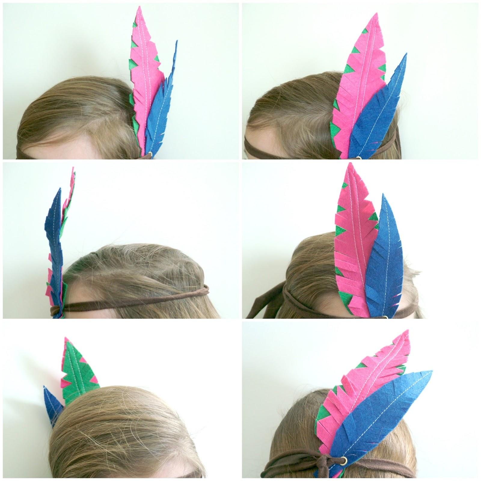 Disfraces: plumas de indios DIY - Handbox Craft Lovers | Comunidad ...