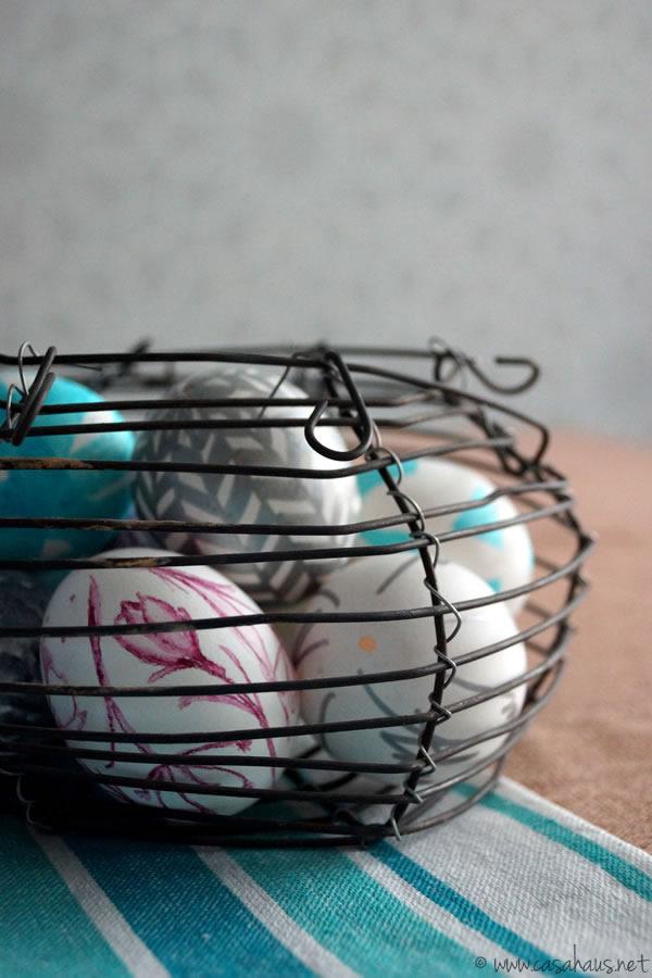 Casa Haus: Easter eggs / Huevos de Pascua