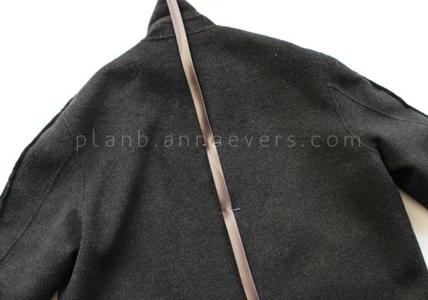 Plan B anna evers DIY oversize coat step 5
