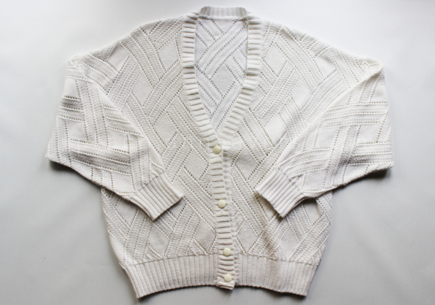 Plan B anna evers DIY Fringe cardigan materials